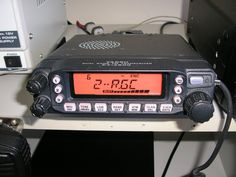 My Yaesu FT-7800 UHF/VHF FM radio.