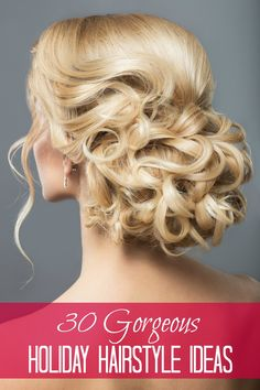 Three do it yourself holiday hairstyles third holidays and hair 30 gorgeous holiday hairstyles solutioingenieria Gallery