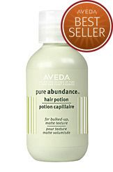 AVEDA Pure Abundance Hair Potion. Gives volume and grit- just use a little! It really is magic!