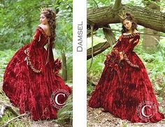 "Gorgeous ""Damsel"" dress, handmade by Chantal Mallett"