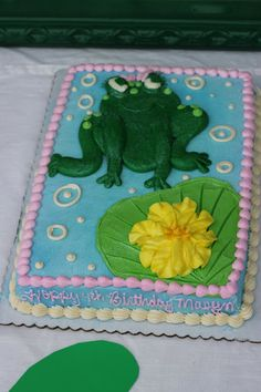 the tharp family: Masyn's Frog Party