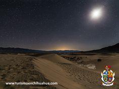 TURISMO EN CIUDAD JUÁREZ. A sólo 37 kilómetros de Ciudad Juárez podrá encontrar el desierto, el lugar perfecto para los amantes de la naturaleza y de la fotografía, por sus hermosos paisajes y bellos atardeceres. Durante los meses de marzo a noviembre le recomendamos visitarlo para admirar las noches de luna llena. Le esperamos en su próxima visita al estado de Chihuahua. #visitachihuahua