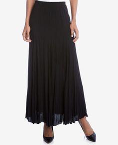 Karen Kane Pleated Maxi Skirt