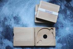 Plain wooden CD/DVD case by ekodizajn on Etsy