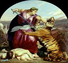 Armitage, Edward (b,1817)- Retribution {I like this painting a lot}