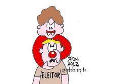 Dilma e eleitores