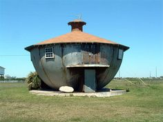 Kettle House in Galveston Texas. Made from steel in the1950's.