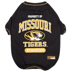 Missouri Tigers Pet Tee, Multicolor