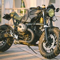 The Off Road BMW Cafe Racer of Your Dreams