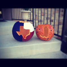 Texas proud pumpkins