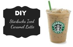 DIY Starbucks Iced Caramel Latte Starbucks.Do I have your attention? I thought I might ;) Starbucks is one of my passions. The only problem with this is that my wallet does not appreciate my love for this costly coffee. Here is a DIY recipe for the Starbucks Iced Caramel Latte!Ingredients:½ cup strongly brewed coffee1 cup mi...  Read More at http://www.chelseacrockett.com/wp/food-2/diy-starbucks-iced-caramel-latte/.  Tags: #Coffe, #Diy, #IcedCaramelLatte, #SaveMoney