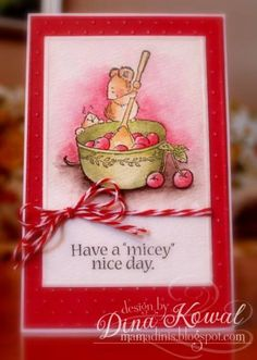 Micey Nice Too by dini - Cards and Paper Crafts at Splitcoaststampers