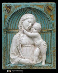 Explore artworks and writings by Italian artist Luca della Robbia, and meet other artists of Italian Renaissance National Gallery Of Art, Italian Renaissance, Renaissance Art, Statues, European Paintings, Madonna And Child, Expositions, Italian Artist, Sacred Art