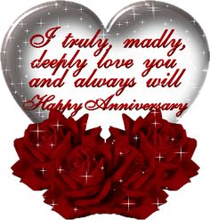 Happy Anniversary Pictures and Cards collection. Enjoy some beautiful Wedding Anniversary pictures which you can send to your husband or wi. Happy Anniversary Clip Art, Anniversary Quotes For Wife, Anniversary Wishes Message, Happy Wedding Anniversary Cards, Happy Anniversary To My Husband, Happy Aniversary, Happy Marriage Anniversary, Anniversary Pictures, 6th Anniversary