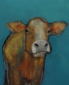COW 8 X 10 COW   Giclee print from my original oil by artiparti