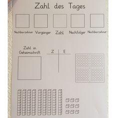 """Gesehen bei @abc_grundschullehrerin, die sich von @kaffeeannchen hat inspirieren lassen. Mathe Arbeitsblätter zum Thema """"Zahl des Tages"""". Da wir im Moment den Hunderterraum erobern, passt diese Idee ideal. Für die Kinder, die bereits über Hundert rechnen habe ich ein Blatt mit entsprechend höherem Zahlenraum erstellt. #grundschulleben #grundschulideen #grundschule #grundschulliebe #grundschulalltag #mathematik #mathematikunterricht #arbeitsblätter #teacherlife #teachersofinstagram…"""