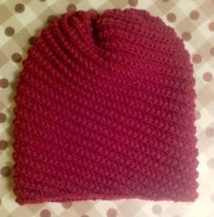 Knitting Stitches, Knitting Patterns, Hat Patterns, Popular Pins, Stitch Patterns, Knitted Hats, Beanie, How To Make, Crafts