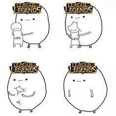 L'effet de LoL sur la vie des joueurs
