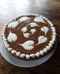 Raw Vegan Chocolate Vanilla Swirl Cake - From the Recipe E-Book Raw Food Made Fun, Easy  Beautiful