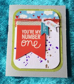 my simple life: card for the 'be inspired' challenge using a PL card for inspiration