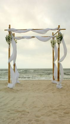 simple wedding arbor