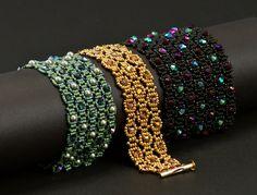 Beadwoven Bracelet Tutorial - Labyrinth. $10.00, via Etsy.