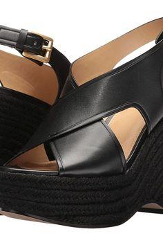 dfc2e03e6de ... Plus Size Short Sleeve Stingray Border Dress (Black) Women s Dress. MICHAEL  Michael Kors Angeline Wedge (Black Vachetta Jute) Women s Shoes - MICHAEL  ...