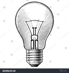 Figure bulbs. Illustration on white background.