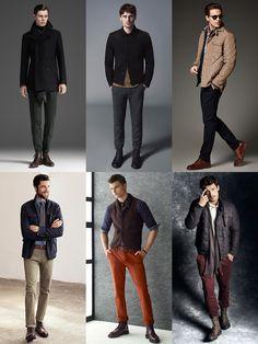 Men's Autumn/Winter Boots Lookbook