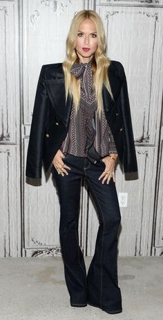 Rachel Zoe wears super cool flares, talks laundry secrets (including how long you should wear clothes before washing)