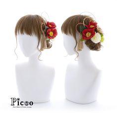Gallery 359 . Order Made Works Original Hair Accessory for SOTSUGYO-SHIKI . ⭐️卒業式髪飾り⭐️ . 赤色ベースの振袖&袴に合わせて、人気のツバキをメインにした、落ち着きのあるしっかり和スタイル 赤金の水引&タッセル使いが、伝統的で上品な雰囲気を演出しています✨ . . . #Picco #オーダーメイド #髪飾り . #袴 #タッセル #椿 #水引 #卒業式ヘア . デザイナー @mkmk1109 . . . . #成人式 #成人式髪型 #振袖 #前撮り #マム #袴ヘア #和装ヘア #ゴールド #成人式ヘア #小花 #挙式 #披露宴 #ヘアアクセ #ヘッドアクセ #ヘッドドレス #花飾り #造花 #hairdo #kimono #japanesestyle #flowercrown #cooljap Fascinator, Headpiece, Wire Jewelry, Jewelery, Wedding Accessories, Hair Accessories, Japanese Site, Yukata, Wedding Hairstyles