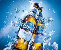Splash Bere Chisinau on Behance Wine Advertising, Advertising Design, Food Packaging Design, Bottle Packaging, Coffee Packaging, Beer Shot, Ice Beer, Beer Commercials, Beer Poster
