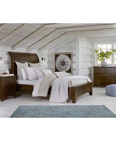 Abilene Storage Platform Bedroom Furniture, 3-Pc. Bedroom Set ...