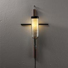 Wine Bottle Lamp by John Meng: Inner Universe B