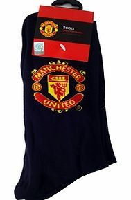 Man Utd Accessories  Manchester United FC Crest Socks Black Size 6-12 MAN UTD CREST SOCKS COLOUR : BLACKSIZE: 6-12 (MENS)PACKED 10 http://www.comparestoreprices.co.uk/football-kit/man-utd-accessories-manchester-united-fc-crest-socks-black-size-6-12.asp