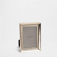 Goldfarbener, gehämmerter Rahmen -   Zara Home SWITZERLAND