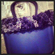 obag diy with wool