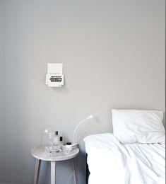 // den perfekta gråa väggfärgen | Annaleenas hem Kulören heter Jotun/lady antikgrå och kulörkod är 1973/S2502-Y