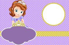 Kit para Festas - Princesa Sofia da Disney 3