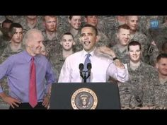 Love this video of my president. Whoever thought this up was a genious.
