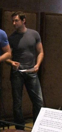 Tight tee...I had to pin it...there he was all lonely and...and...gorgeously muscled... Richard Armitage