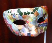 washi tape mask