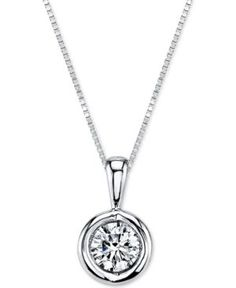 ) in Gold, White Gold or Rose Gold - - Diamond Solitaire Necklace, Diamond Pendant Necklace, Lariat Necklace, Necklace Guide, Necklace Ideas, Gold Pendant, Jewelry Ideas, Sterling Necklaces, Gold Necklaces
