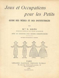 https://flic.kr/s/aHsjt6UUBf | occupations pour les petits (1923)