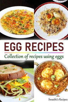 Egg Recipes For Lunch, Recipes Using Egg, Easy Egg Recipes, Breakfast Crockpot Recipes, Vegetarian Breakfast Recipes, Egg Recipes For Breakfast, Veg Recipes, Curry Recipes, Snack Recipes