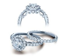 The Verragio Insignia engagement ring collection features elegantly displayed diamonds in white gold and platinum. Verragio Rings, Verragio Engagement Rings, Engagement Ring Settings, Oval Engagement, Thing 1, Birthstone Jewelry, White Gold Diamonds, Or Rose, Jewelry Stores