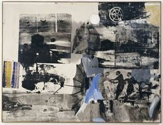 Find the latest shows, biography, and artworks for sale by Robert Rauschenberg. Robert Rauschenberg's enthusiasm for popular culture and, with his contempora… Robert Rauschenberg, Painting Collage, Collage Art, Blue Painting, Abstract Expressionism, Abstract Art, Abstract Paintings, Collages, Pop Art