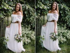 rustic wedding ideas - bride dress Rustic Wedding, Wedding Ideas, Two Piece Skirt Set, Bride, Formal Dresses, Skirts, Fashion, Wedding Bride, Dresses For Formal
