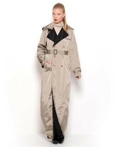 Jean Paul Gaultier Femme Transforming Trench Coat- Made in Italy