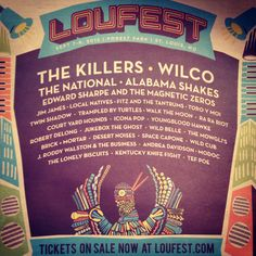 We will be at Loufest music festival this year with Bluebird apparel! Can't wait to party with you! St. Louis! Xoxo www.loufest.com